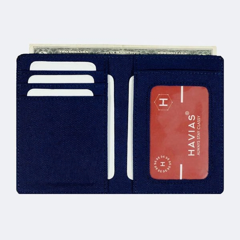 Ví vải Modern Fabric Vertical Wallet