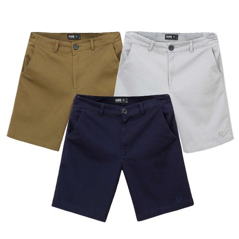 SP268 - Quần Short Kaki Elastic Back