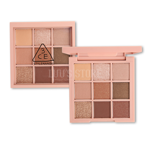 Bảng Phấn Mắt 3CE Mood Recipe Multi Eye Color Palette #OVERTAKE