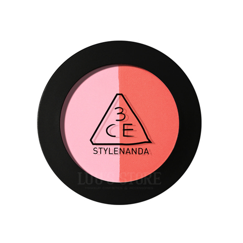 Phấn má hồng 3CE Duo Color Face Blush #MAKE ME BLUSH