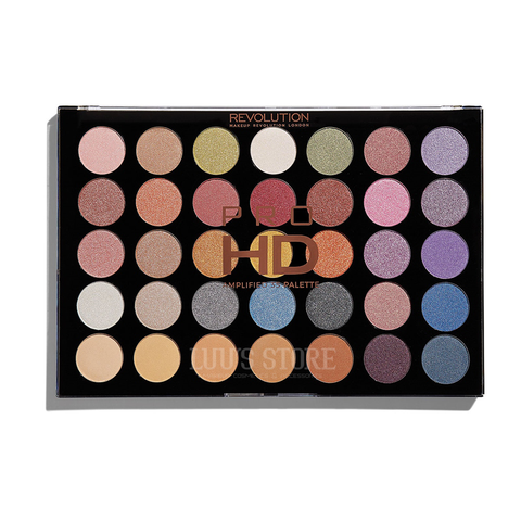 Bảng Phấn Mắt Revolution HD Amplified 35 Palette Exhilarate 30g
