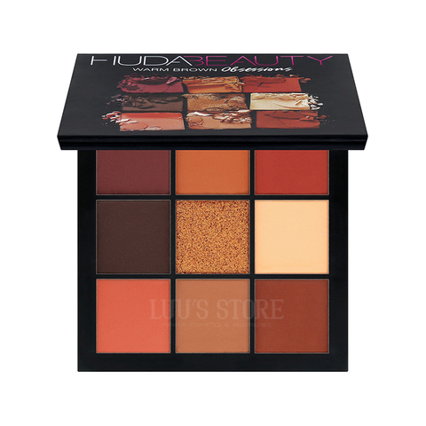 Phấn Mắt Huda Beauty Obsessions 9 ô #Warm Brown