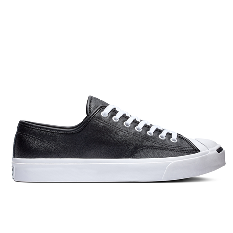 Converse Jack Purcell Leather Black - Low