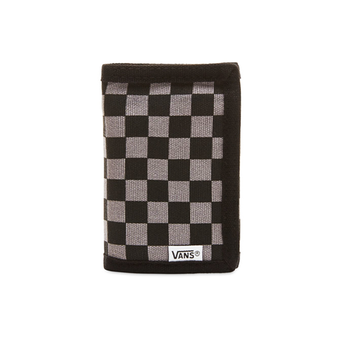 Vans Black and Gunmetal Grey Wallet