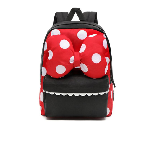 Vans x Disney Minnie Realm Backpack Racing Red