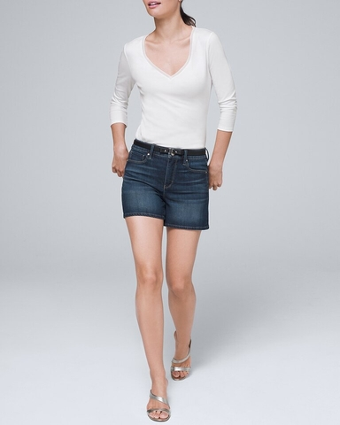 Shorts Jean White &Black