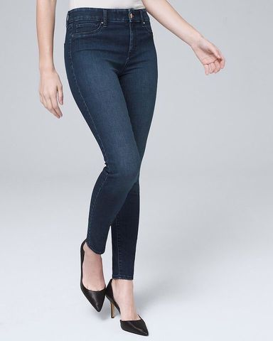 Quần Jegging White Black