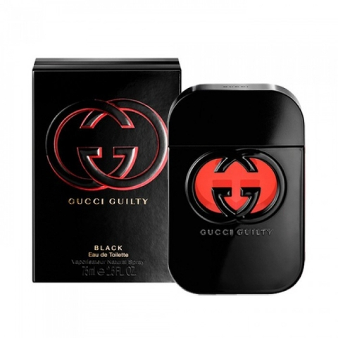 Gucci Guilty Black For Women 75ml