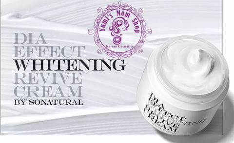 Kem dưỡng So Natural Dia Effect Whitening Revive Cream 70ml