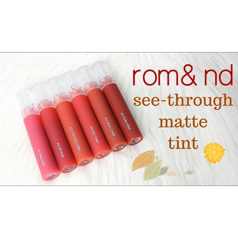 Son Romand See-Through Matte Tint