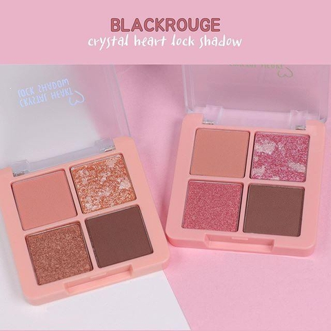Phấn mắt Black Rouge Crystal Heart Lock Shadow