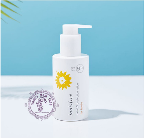Kem chống nắng Innisfree Daily UV Protection Lotion for Family SPF50+ PA+++