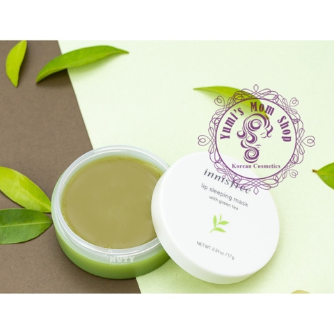 Mặt nạ ngủ Innisfree Lip Sleeping Mask With Green Tea 17g
