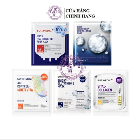 Mặt Nạ Dưỡng Trắng Sur.Medic+ Bright Glutathione Mask
