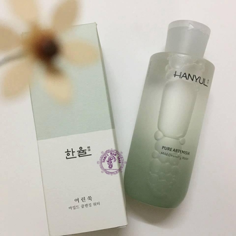Tẩy trang Hanyul Pure Artemisia Mild Cleansing Water