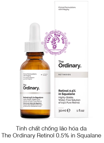 Tinh chất The Ordinary Retinol 0.5% In Squalane