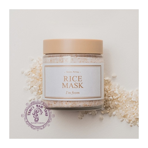 Mặt nạ dưỡng trắng I'm from Rice Mask