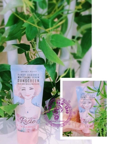 Kem chống nắng Rosie Seoul Rose First Essence Whitening Serum Sunscreen