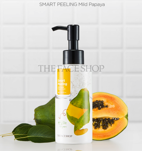 Tẩy Da Chết Đu Đủ The Face Shop Smart Peeling Mild Papaya Peeling 150ml