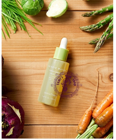 Gom order Tinh chất Innisfree Veggie Water Toning Ampoule