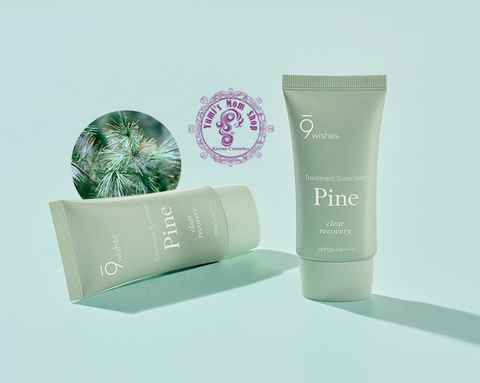 Kem chống nắng 9 Wishes Pine Treatment Suncreen SPF50+ PA++++ 50ml
