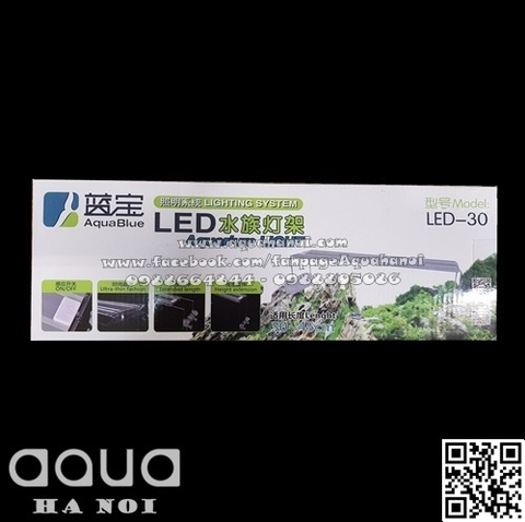 Đèn gác LED Aquablue 30cm