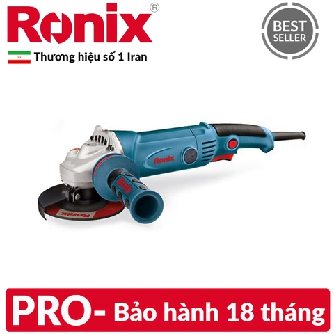 Máy mài Ronix 115mm PRO-LONG HANDLE – #3150N (Iran)