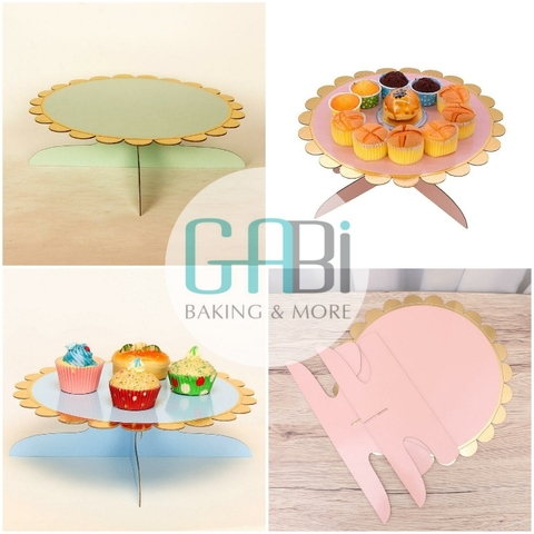 Cake stand giấy 1 tầng