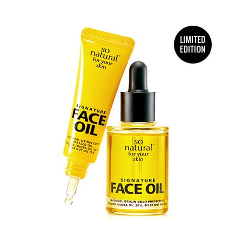 Set dầu dưỡng da So Natural For Your Skin Signature FACE OIL