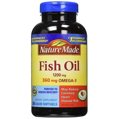 Dầu cá Nature Made Fish Oil 1200mg 200 viên