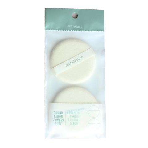 Mút trang điểm The Face Shop Daily Beauty Tools Round Caron