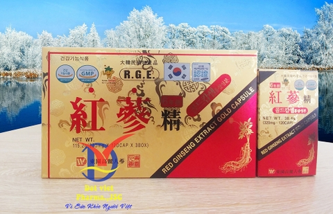 Hồng Sâm 6 Tuổi Red Ginseng Extract Gold Capsule