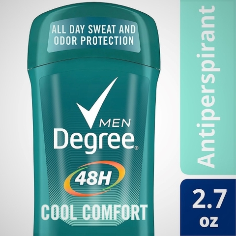 Lăn Khử Mùi Degree Men 48H Antiperspirant Cool Comfort Deodorant