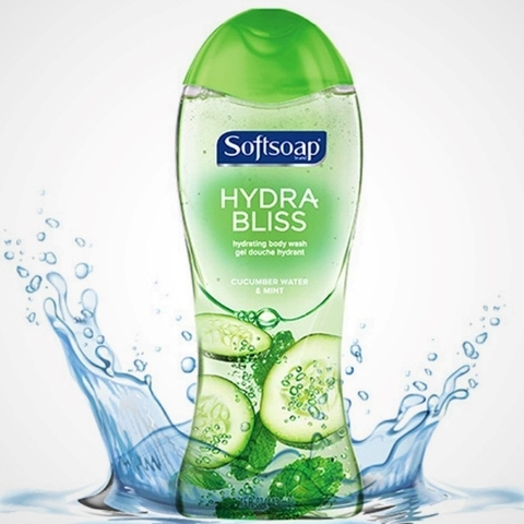 Sữa Tắm Softsoap Hydra Bliss Cucumber Water & Mint Body Wash
