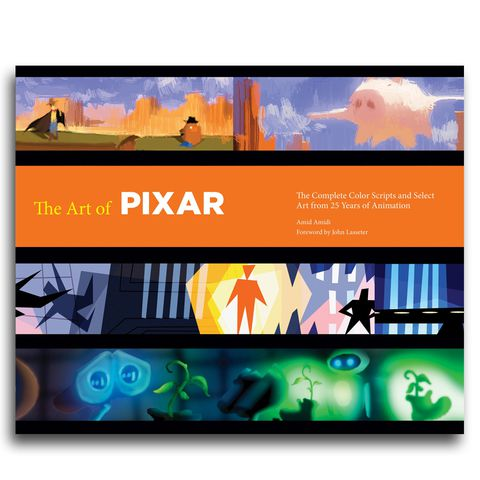 The Art of Pixar: 25th Anniv