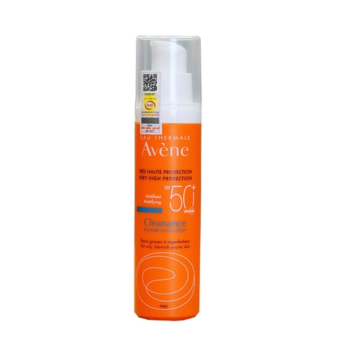Cleanance Protection SPF50+ 50ml Avene