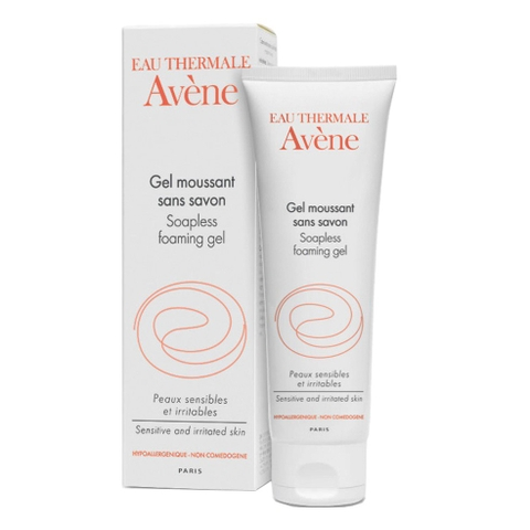 Avene Soapless Foaming Gel