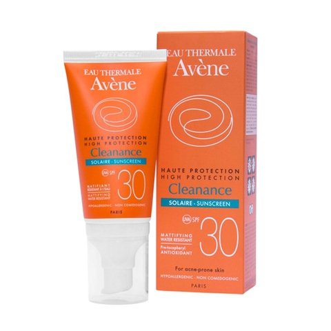 Cleanance Sunscreen SPF 30 50ml Avene