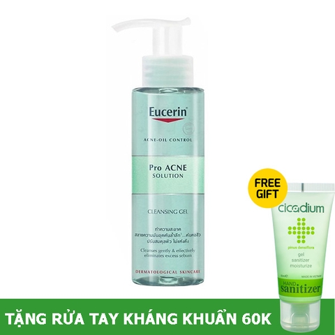 Eucerin ProAcne cleansing gel