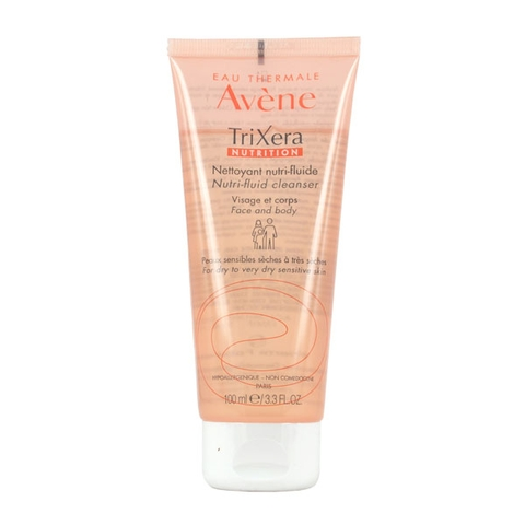 Avene TriXera Nutrition Cleanser 100ml