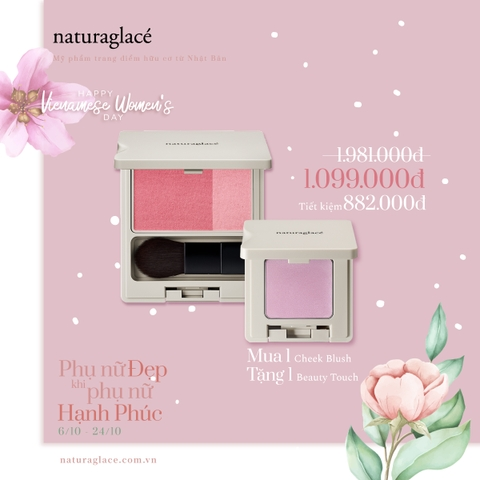 COMBO PHẤN CHEEK BLUSH + PHẤN BEAUTY TOUCH