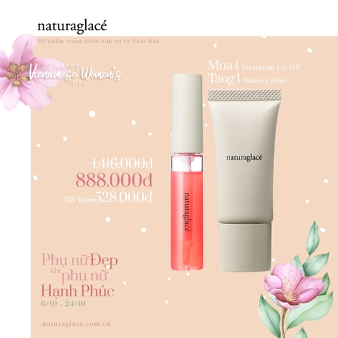COMBO SON TREATMENT LIP OIL MORE + MAKE UP CREAM MINI