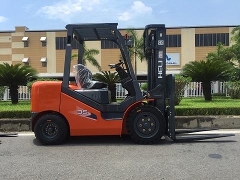 Diesel Heli Forklift - Động cơ ISUZU JAPAN Engine