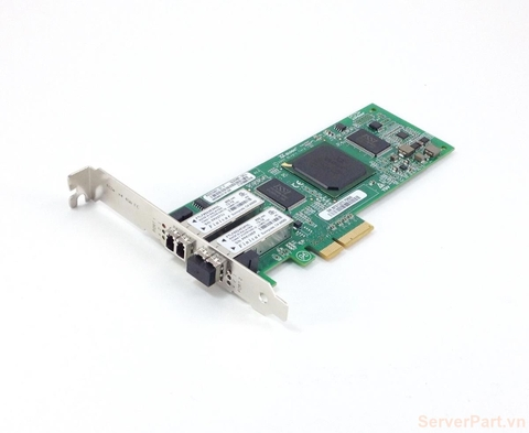 10437 Card HBA FC Dell QLogic QLE2462 4Gb 2 port FC SFP 0DH226 0KC184
