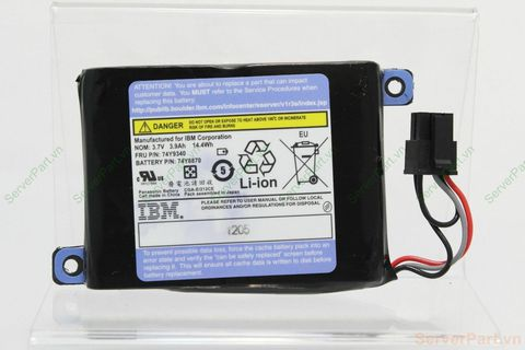 14294 Pin Battery IBM P720 P740 fru 74Y9340 pn 74Y6870