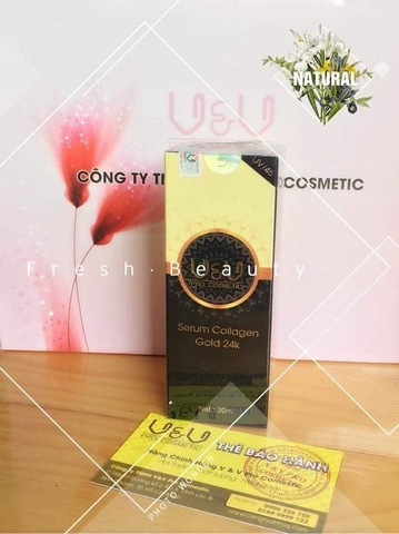 serum vàng 24k gold V&V Pro Cosmetic