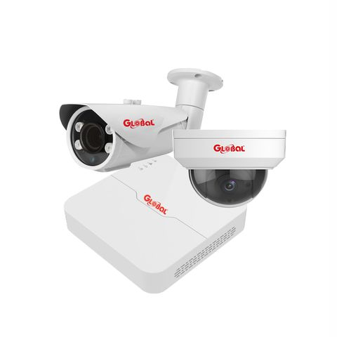 Trọn bộ Camera IP Global 2.0Mpx Full HD 1080P - 02 camera