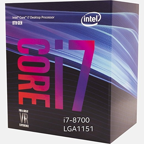 CPU INTEL CORE I7 8700 (12M CACHE/ 3.2 GHZ)
