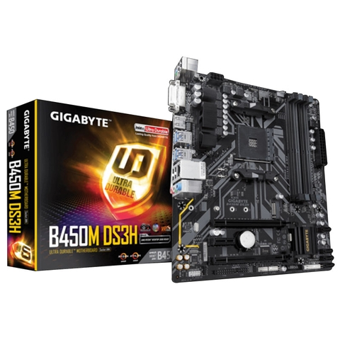 MAIN GIGABYTE B450M DS3H