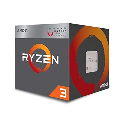 CPU AMD Ryzen 3 2200G -  3.5 GHz